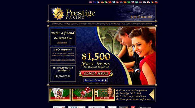 Казино Престиж: обзор официального сайта и секреты игры