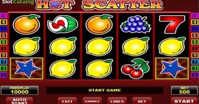 игровой автомат Горячий Скаттер